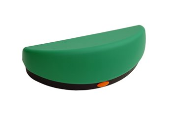 ADULT bomb button green - black - orange