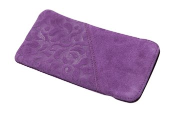 softcase Leather L ORNAMENTO purple