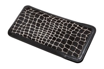 softcase Leather L PONYskin giraffe