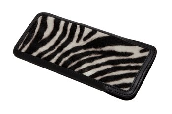 Leather Clic-Clac PONYskin zebra